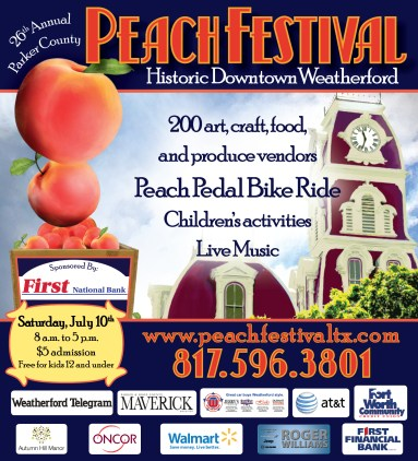 weatherford-chamber-of-commerce-peach-festival-posters