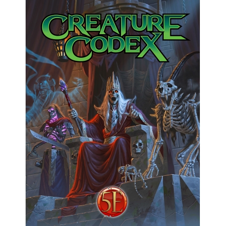 TOME OF BEASTS 2: CREATURE CODEX HARDCOVER (5TH EDITION)