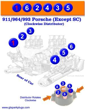 Porsche 911 Firing Order   GTSparkplugs