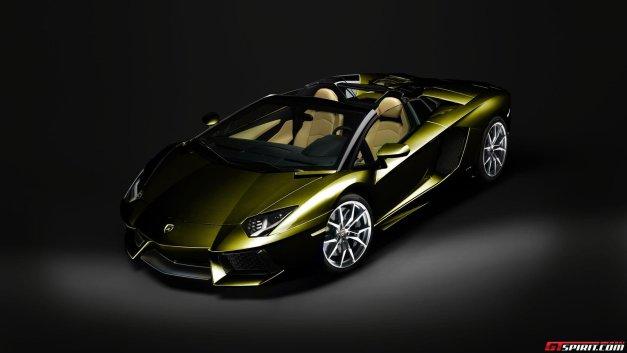 2013 Lamborghini Aventador Roadster Colors Photo 3