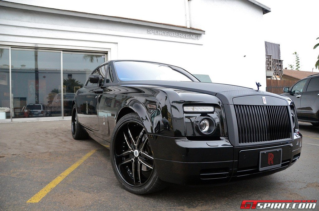 Rolls-Royce Phantom Coupe with Carbon Fiber Wrap