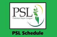 PSL 2019 Schedule PSL Season 4 Fixtures