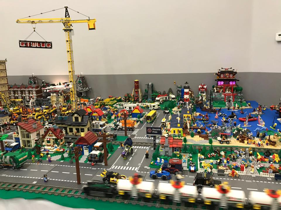Lego City sponsored by Electric Pros