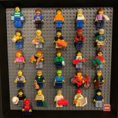 Minifigs of Club Members