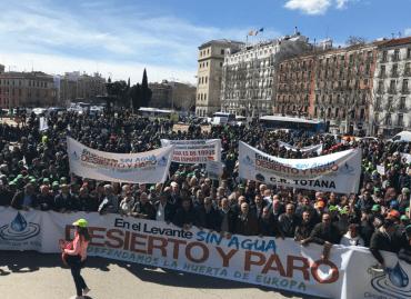 manifestación regantes Murcia Twitter Scrats