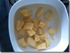 Malaysian Singaporean Chinese Food–Sweet Potato Soup Dessert (番薯糖水)