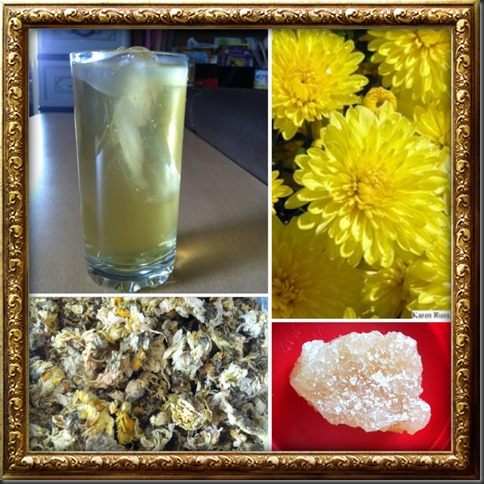 Come and have a cup of Chrysanthemum Tea (菊花茶) …