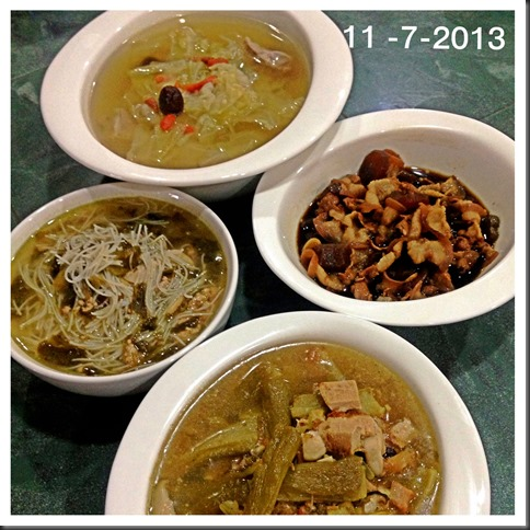 What I cooked today (家常便饭系列)- 11-7-2013