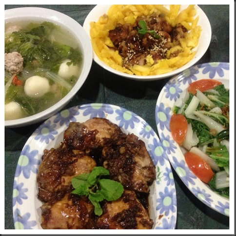 What I cooked today (家常便饭系列)- 31-7-2013