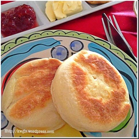 Traditional English Muffins (英式松饼)