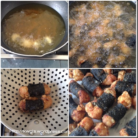 I Am Confused If This Is A Japanese Cuisine–Japanese Seaweed Chicken Nuggets
