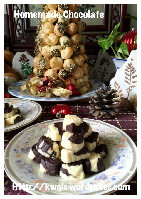 """Homemade"" Macadamia Chocolates Are Definitely A Presentable Gift.."