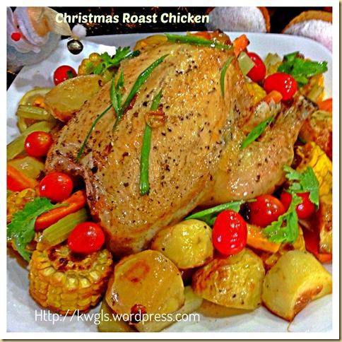Easy Peasy Crispy Roast Chicken (简易烤鸡食谱)