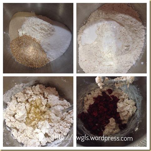 Cranberry Wholemeal Dinner Rolls (蔓梅汤匙餐包)