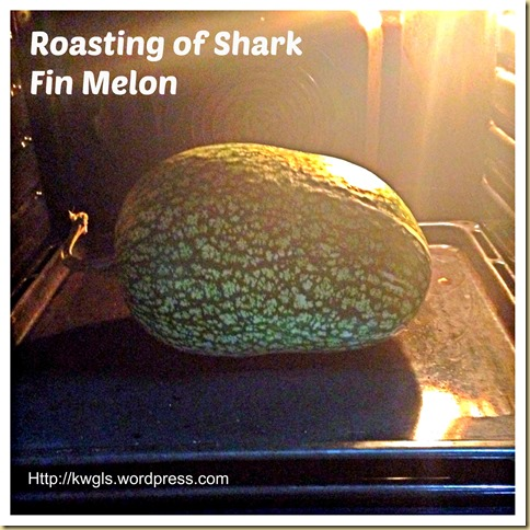 Lets Try Roasting Some Shark Fin Melon–Shark Fin Melon Spaghetti With Shrimp Marinara
