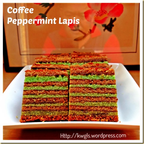 How About Another Type Of Lapis–Coffee Peppermint Lapis