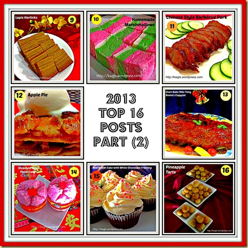 Guaishushu's Report Card–Top 16 posts For 2013