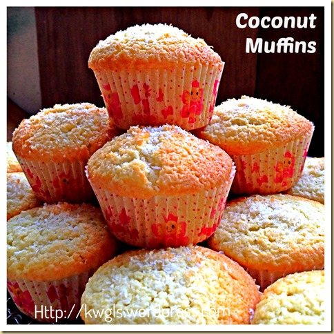 Start The Year Of Horse With Some Delicious Coconut Muffins