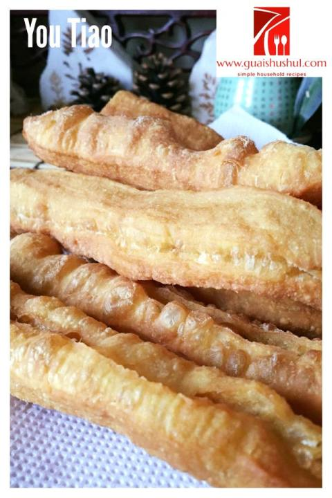 Youtiao or Chinese Crullers – ( 油条)