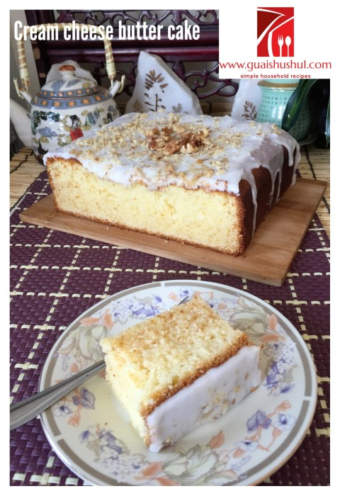 Another Alternative To Butter Cake–Cream Cheese Butter Cake (奶酪牛油蛋糕)