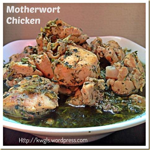 An Uniquely Sarawakian Confinement Dish–Motherwort Chicken or Kacangma (益母草姜酒鸡)