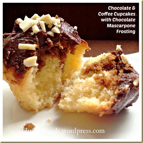 An Eastern Europe Traditional Cupcake–Chocolate and Coffee Cupcake - prajitura cu crema de ciocolata si cafea