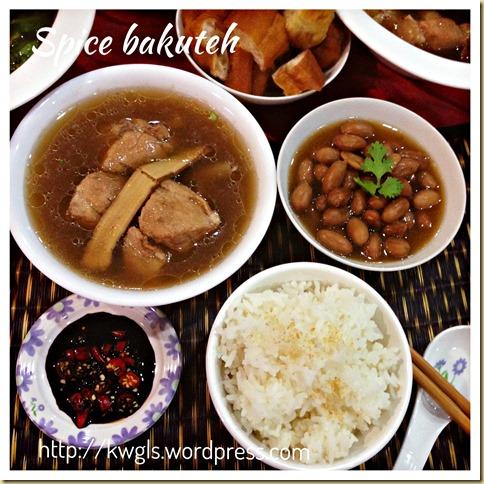 Pork Rib In Chinese Tea? - Spice Bakuteh (Bak Kut Teh) (香料肉骨茶)