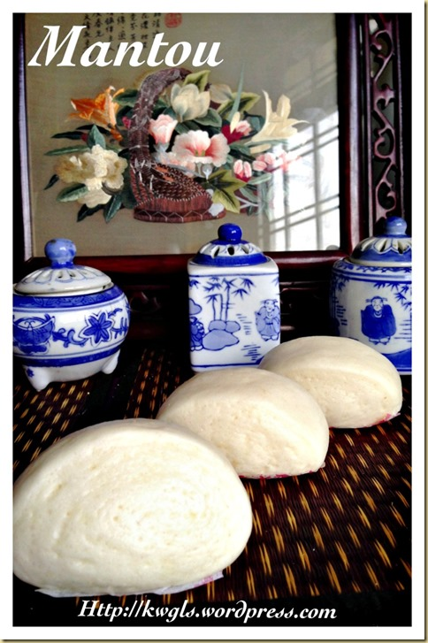 Chinese Steamed Bread–Mantou (刀切馒头)