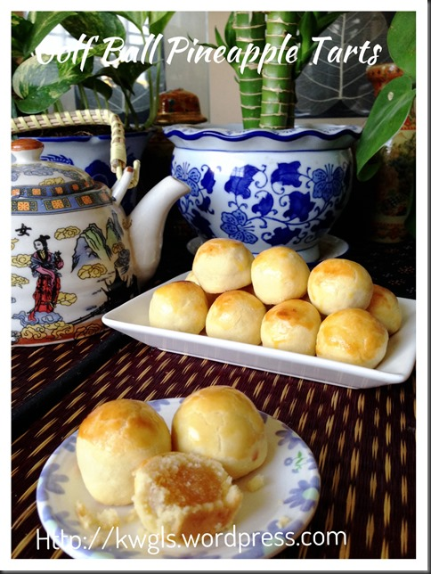 What A Golf Ball Have To Do With A Pineapple? Well, It Is The Famous South East Asian Pineapple Tarts (凤梨酥)