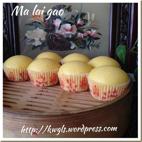 Let's Made This Dim Sum Cake At Home–Ma La Gao/Ma Lai Gao (马来糕)