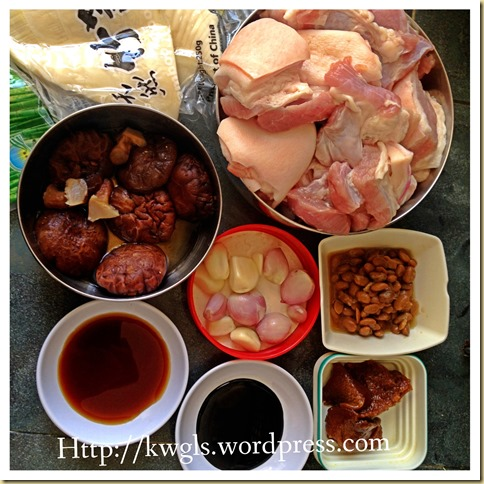 Stewed Meat With Fermented Soya Bean – Babi Pongteh (娘惹豆瓣酱燜蹄膀)