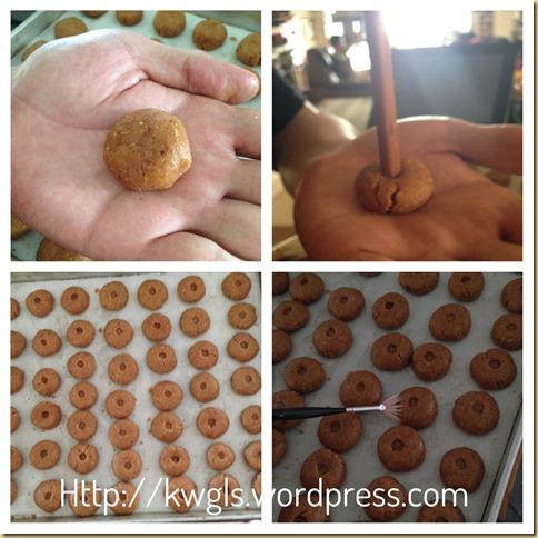Peanut Cookies (花生饼)