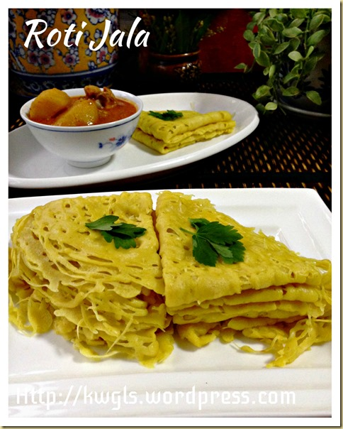 Nested Your Bread?Laced Your Pancake?  Roti Jala (网面薄煎饼)