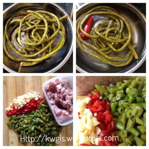 Sichuan Recipes: Preserved Long Beans (酸豆角 aka 酸豇豆)