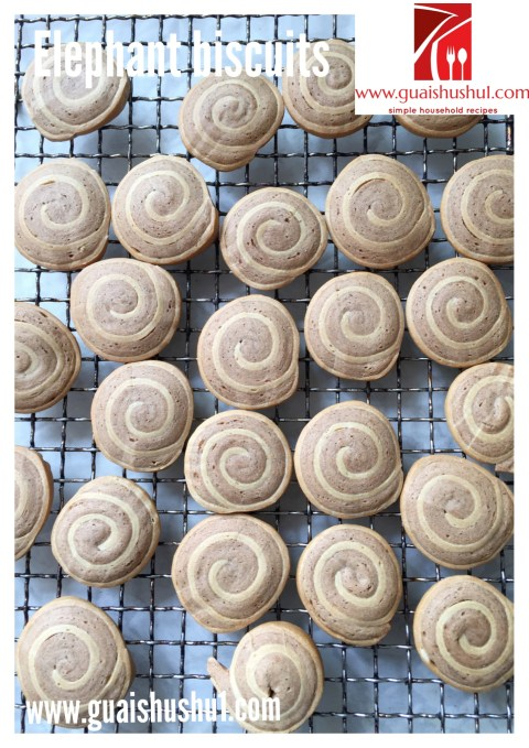 Ear Lobe Biscuits or Spiral Biscuits (螺旋饼, 耳朵饼)
