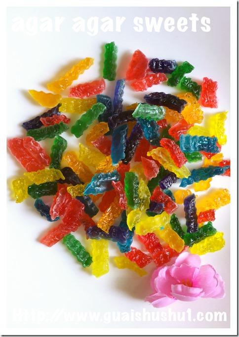 Agar Agar Sweets (燕菜糖)
