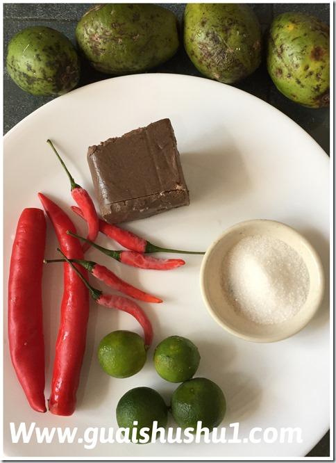 Sambal Chilli Belachan Condiments (辣椒虾酱酱料)