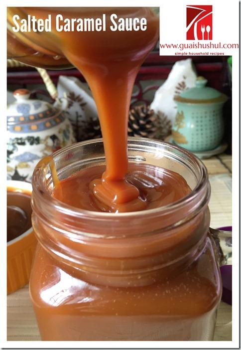 Salted Caramel Sauce (咸焦糖酱)