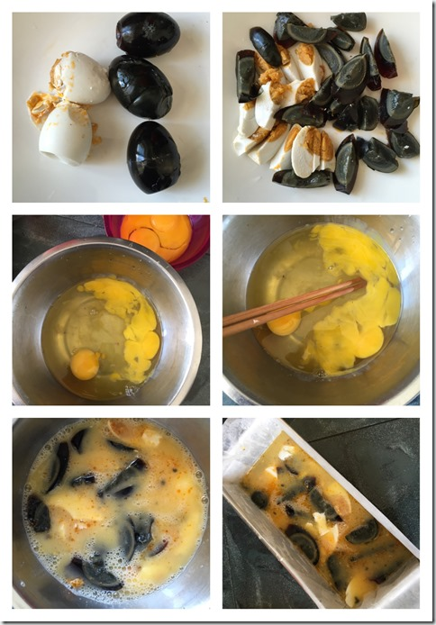 Chinese Tricolour Steamed Eggs (三色蛋)