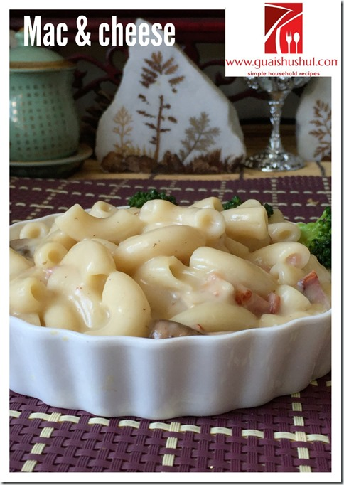 Classic Macaroni And Cheese Recipe (奶酪通心粉)