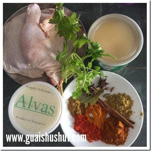 Chicken Biryani aka Nasi Ayam Briani (சிக்கன் பிரியாணி 布瑞雅尼鸡 或 印度香料鸡饭)