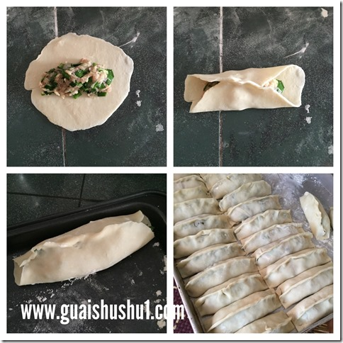 Classic Chinese Pot Sticker aka Guotie (韭菜虾仁锅贴)