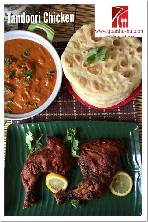 Tandoori Chicken And Chicken Tikka Masala (唐杜里鸡和马萨拉鸡 தந்தூரி சிக்கன்,   சிக்கன் டிக்கா மசாலா)