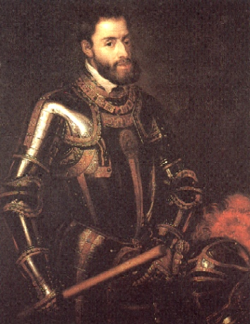 King of Spain and Emperor Charles V