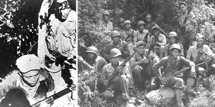 Left photo: Pacific Profile Collection courtesy of the MARC. Right photo: Lon Bulgrin/Boyd Dixon