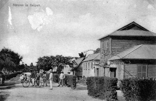 Postcard of Saipan, 1909. Courtesy of Governor Joseph Ada