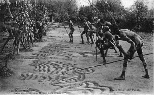 Warriors in Ambush. Photo courtesy of the State Library of New South Wales.