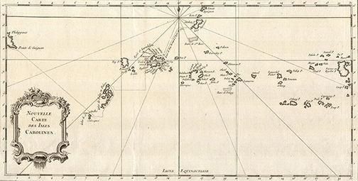 Carolines Map