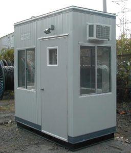 4 x 8 Guard Booth-Plan B-Standard