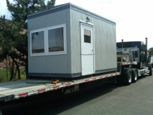 8 x 14  Guard Booth with Restroom-ADA-shipped